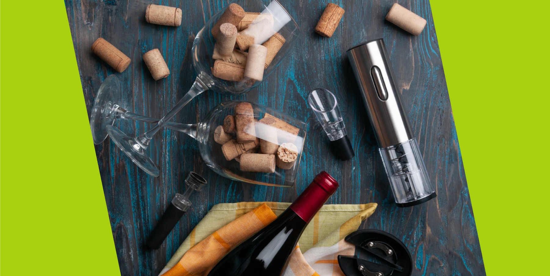 servire vino al calice