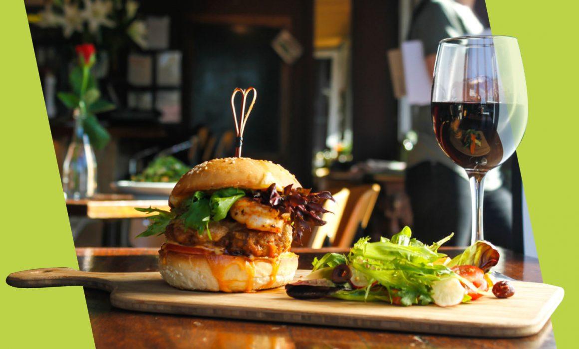 abbinamento vino hamburger